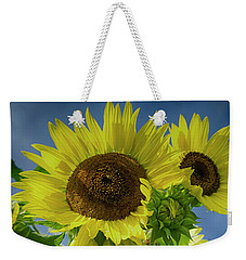Blue Sky Day Weekender Tote Bag
