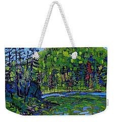 Blue Sky Greens Weekender Tote Bag
