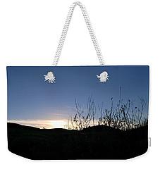 Blue Sky Silhouette Landscape Weekender Tote Bag