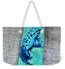 Blue-spotted Tree Frog Weekender Tote Bag