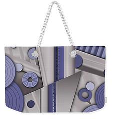 Blue Steel Weekender Tote Bag