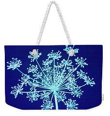 Blue Weekender Tote Bag by Steve Gravano