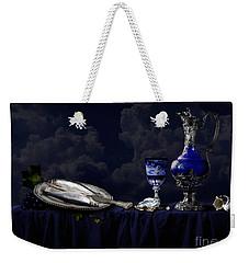 Still Life In Blue Weekender Tote Bag