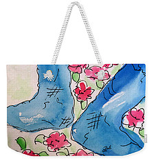 Blue Stockings Weekender Tote Bag