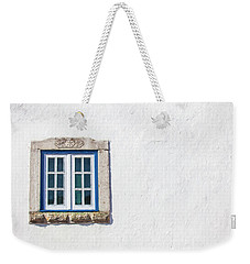 Blue Stone Window Of Obidos Weekender Tote Bag