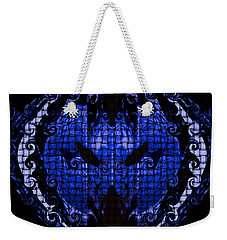 Blue Weekender Tote Bag
