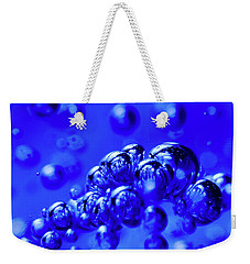 Blue Substance Weekender Tote Bag