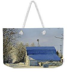 Blue Sunday Weekender Tote Bag