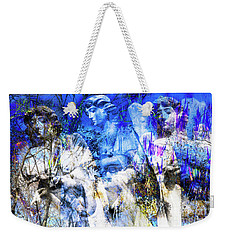 Blue Symphony Of Angels Weekender Tote Bag