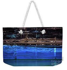 Blue Tanker Weekender Tote Bag