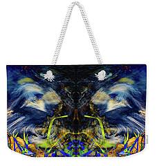 Blue Tigers Devil Weekender Tote Bag
