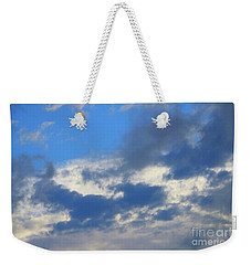 Blue Two Weekender Tote Bag by Jesse Ciazza