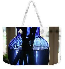 Blue Vase Weekender Tote Bag