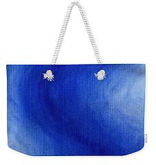 Blue Vibration Weekender Tote Bag