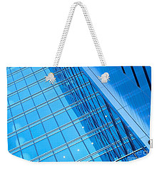 Blue Walls Weekender Tote Bag