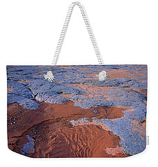 Blue Wash Weekender Tote Bag