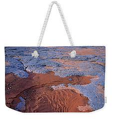 Blue Wash Weekender Tote Bag