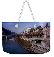 Blue Water Blue Sky Weekender Tote Bag