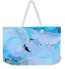 Blue Water Wet Sand Weekender Tote Bag by Stephanie Grant