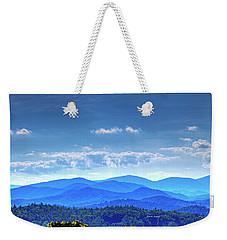 Blue Waves Weekender Tote Bag