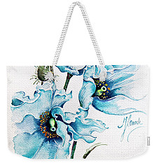 Blue Wind Weekender Tote Bag