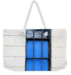 Blue Window Panes Weekender Tote Bag