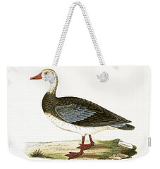 Blue Winged Goose Weekender Tote Bag by English School