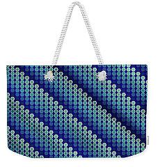 Blue Zag Weekender Tote Bag
