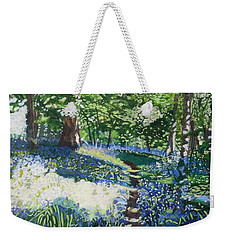 Bluebell Forest Weekender Tote Bag
