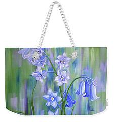 Bluebell Haze Weekender Tote Bag
