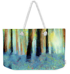 Bluebell Wood By V.kelly Weekender Tote Bag