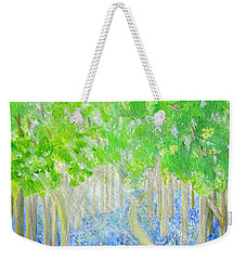 Bluebell Wood With Butterflies Weekender Tote Bag