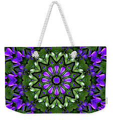 Bluebells And Reflection Weekender Tote Bag by Aliceann Carlton