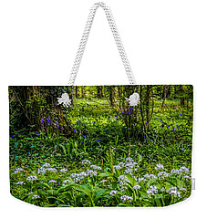 Bluebells And Wild Garlic At Coole Park Weekender Tote Bag