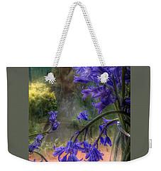 Bluebells In My Garden Window Weekender Tote Bag