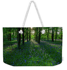 Bluebells In Oxey Woods Weekender Tote Bag