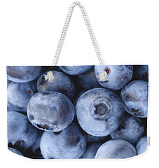 Blueberries Foodie Phone Case Weekender Tote Bag by Edward Fielding
