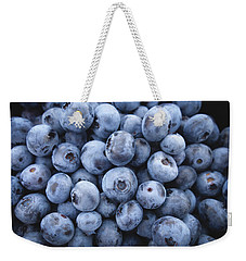 Blueberries Weekender Tote Bag