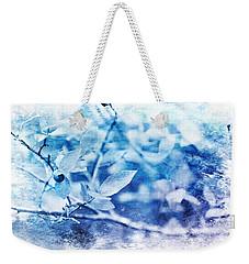 Blueberry Blues Weekender Tote Bag