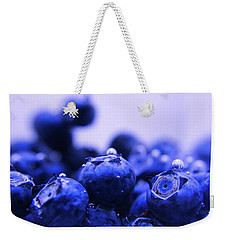 Blueberry Bubbles Weekender Tote Bag