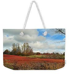 Blueberry Fields Weekender Tote Bag