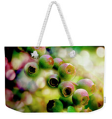 Blueberry On The Vine Weekender Tote Bag