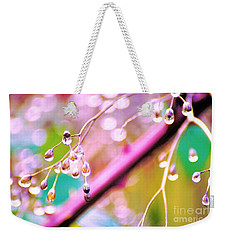 Blueberry Pearls Weekender Tote Bag