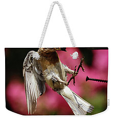 Weekender Tote Bag featuring the photograph Bluebird 0726162 by Douglas Stucky
