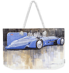 Bluebird World Land Speed Record Car 1931 Weekender Tote Bag