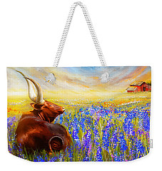 Bluebonnet Dream - Bluebonnet Paintings Weekender Tote Bag