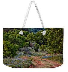 Bluebonnet Road Weekender Tote Bag
