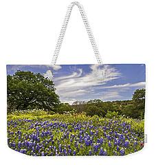 Bluebonnet Spring Weekender Tote Bag