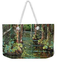 Bluebonnet Swamp Weekender Tote Bag