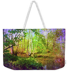 Bluebonnet Swamp Weekender Tote Bag by Judi Bagwell
